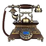 1960er Jahre Stil Vintage Antik Stil Wählscheibe Telefon, Vintage Classic Wired Phone Repariert Haus Und Büro Dekoration, Eine Vielzahl Von Stilen Zur Auswahl (größe : A, Stil : Button Dialing)