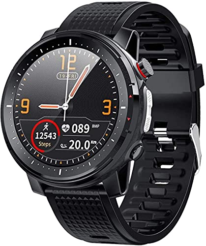 Smart Watch Men 1.3inch Full-Fit Round Retina Display Music Control Camera Flashlight Smart Watch Ip68 Waterproof