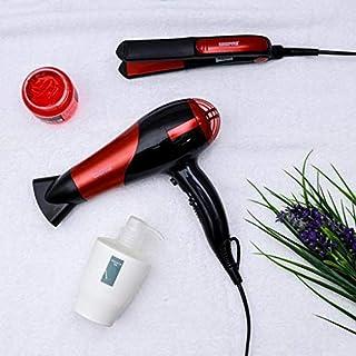 GEEPAS GHF86036,Geepas Hair Dryer&StraightenerCombo/Ceramic, red,