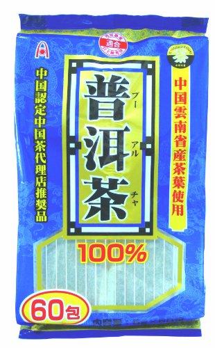 ユーワ ユーワ プーアル茶 5g×60包