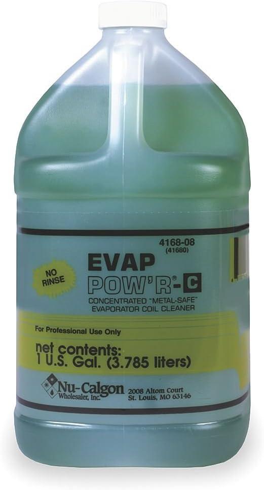 Gorgeous Nu-Calgon 4168-08 Evap Pow'r Rinse Cleaner Coil Excellence No