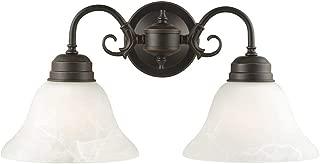 Design House 514471 Millbridge 2 Light Wall Light, Oil Rubbed Bronze