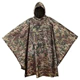 USGI Industries Military Style Poncho - Emergency Tent, Shelter, Survival -...