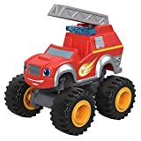 Collectable die-cast fire rescue Blaze vehicle     Metal axles and thick racing tires for fast-rolling speed     Your child can collect them all!   Each sold separately and subject to availability