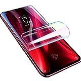 【2 Piezas】Película de Hidrogel Protector de Pantalla Compatible con Xiaomi Redmi Note 9 / Redmi 10X 4G, 【Cobertura Completa】Película Protectora de TPU Suave Transparente (Película no Templada)