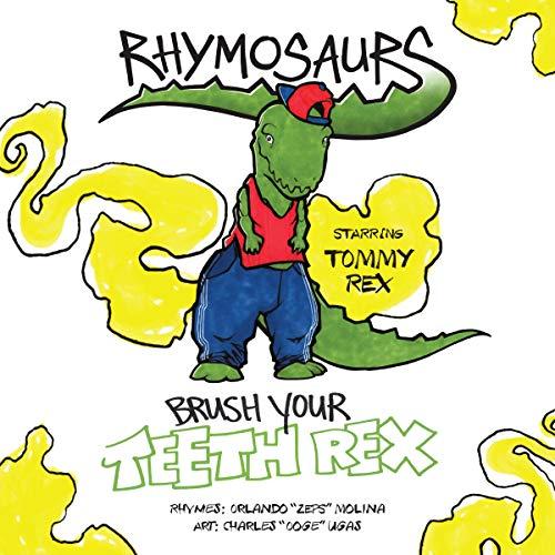 Brush Your Teeth Rex audiobook cover art