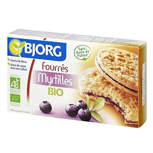 Bjorg wypełniony borówkami 175 g - (cena jednostkowa) - Bjorg fourrés aux myrtilles 175 g
