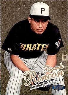 1998 Fleer Ultra GOLD MEDALLION #195 Ricardo Rincon PITTSBURGH PIRATES MLB Baseball Card