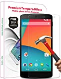 PThink 0.3mm Ultra-Thin Tempered Glass Screen Protector for Google Nexus 5 with 9H Hardness/Anti-Scratch/Fingerprint Resistant (Google Nexus 5)