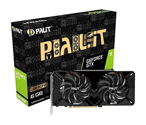 Palit GeForce GTX 1660 SUPER GamingPro 6GB GDDR6 Grafikkarte - DisplayPort/HDMI/DVI