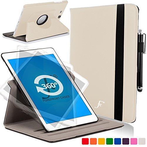 Forefront Cases Funda para Samsung Galaxy Tab E 9.6 T560 (2015) Rotatorio Funda Carcasa Stand Case...
