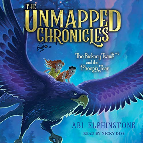 The Bickery twins and the phoenix tear Abi Elphinstone. cover