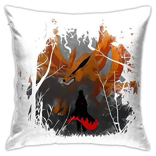 Butvoc Kura+Ma Funny Pillowcase Home Sofa Bed Decorated with Soft and Comfortable Washing Pillowcase (1818in)
