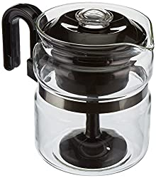 Euro-Ware Perco Mate 8 Cup Glass Coffee and Hot Beverage Percolator