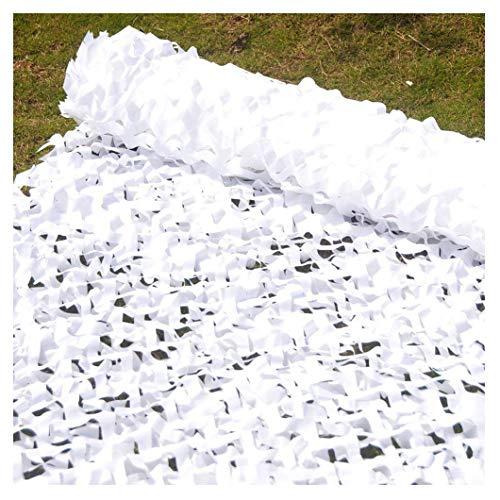 BUYSTAR Telone ombreggiante frangivista frangisole Bianco H 200 frangi Sole Varie metrature Rete ombreggiante Bianca 5 Metri Lineari con Kit Fissaggio Incluso Telo Ombra Bianco frangivento