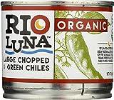 Rio Luna, Green Chiles Large Chopped Organic, 7 Ounce