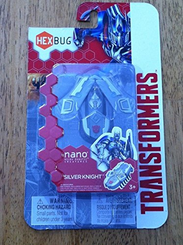 NIP Transformers Hex Bug Nano SILVER KNIGHT Micro Robotic Creature! New! ^G#fbhre-h4 8rdsf-tg1320735