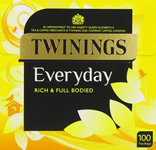 Twinings Everyday 100 Teabags (Pack of 4)