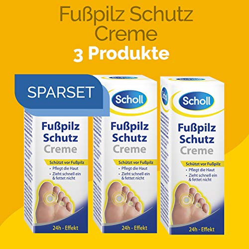 Scholl Fusspilz Schutz Creme 90ml (3 x 30ml)