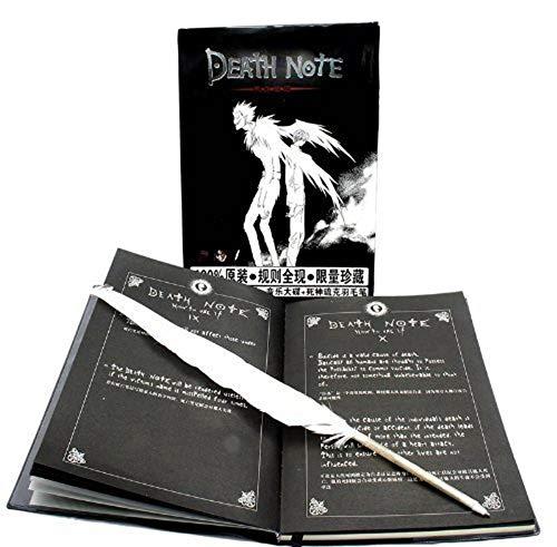 Cosaug Cuaderno de Anime con Pluma de la Serie The Death Note