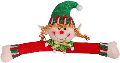 Amosfun 1 stuks kerstgordijngesp cartoon elf gordijnhouder liefhebbers gordijngesp party gunst