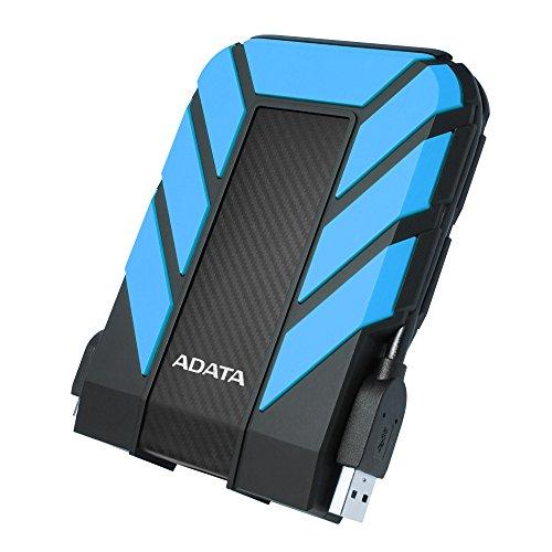 HD Externo Adata Anti-Queda, à Prova D'água, IPX68 Durable HD710 Pro USB 3.2, 2TB, 2.5', Azul