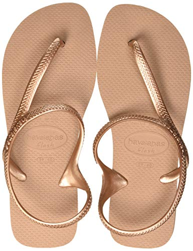 Havaianas Damen Flash Urban Sandalen, Gold (Rose Gold), 41/42 EU
