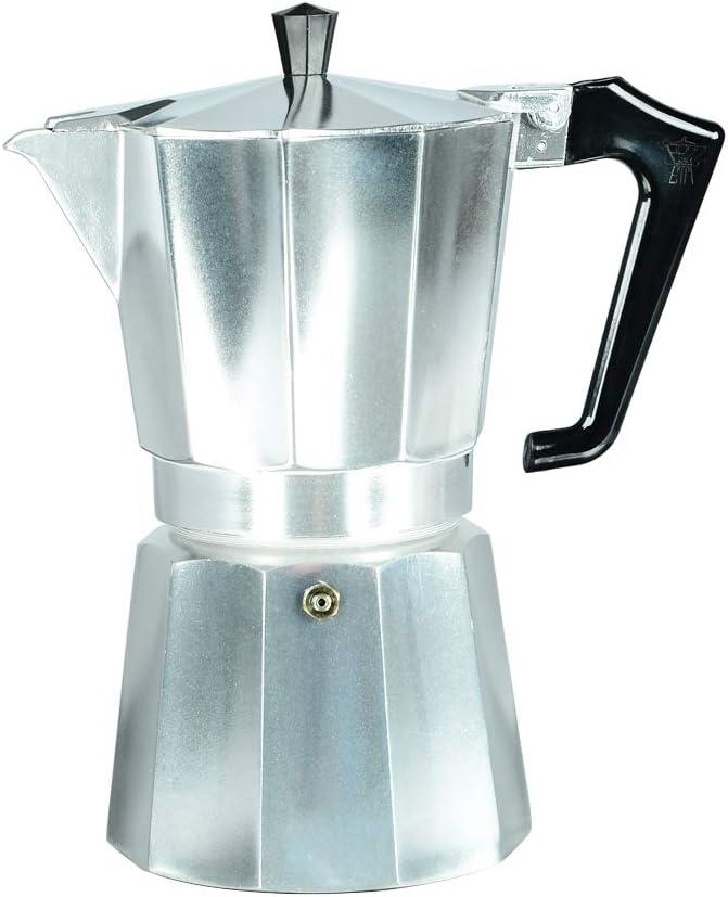 Pezzetti Stove-Top Moka Espresso Italian-Made Coffee Maker Moka Pot 1,2,3,6,9,14 Cup 3 Cup