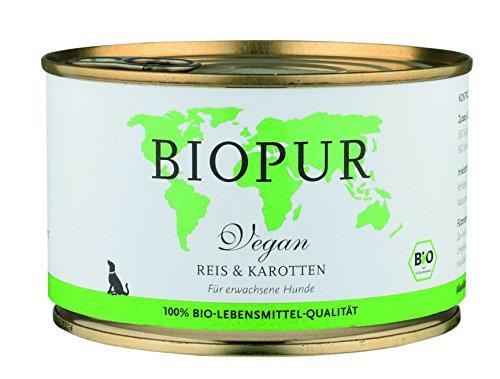 Biopur Bio hondenvoer Vegetarisch, 12-pack (12 x 400 g)
