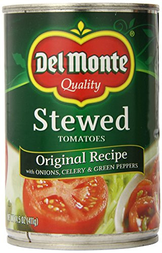 Del Monte Original Recipe Stewed Tomatoes, 14.5 Oz, 6 Count