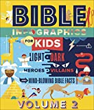 Bible Infographics for Kids Volume 2: Light and Dark, Heroes and Villains, and...
