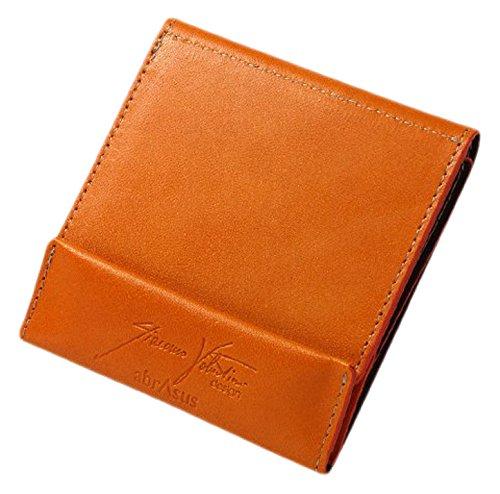 薄い財布 abrAsus × Giacomo Valentini オレンジ