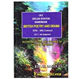 British Poetry And Drama (17th to 18th century ) : CBCS ENGLISH HONOURS HAND BOOKS ( CC-7 3rd Semester) ( Calcutta University )