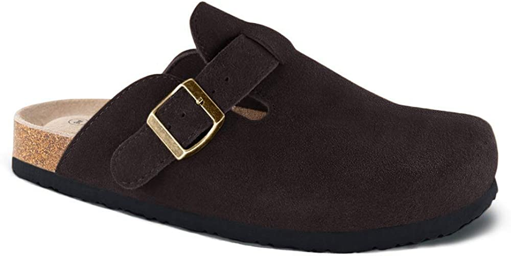Unisex Boston Soft Footbed Clog,Suede Leather Cork Many popular brands Weekly update Clogs Clog