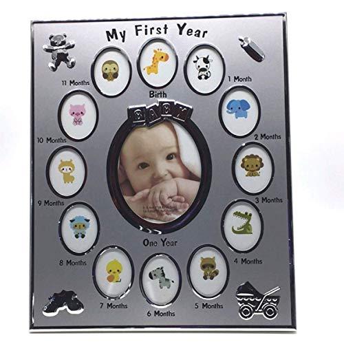 YULIN Marco de fotos para niños con texto en alemán
