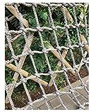 Climbing Net Outdoor,Climbing Cargo Net Rope Netting Playground Rope Ladder Rock Wall Swing Rocks Set Climb Nylon Climb Structures Truck Trailer Nets Giant Heavy Duty Large Mesh,for Kids Child