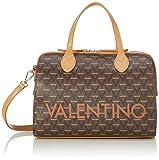 Valentino by Mario Liuto - Borse Bowling Donna, Marrone (Cuoio Multicolor), 17x22x30.5 cm (B x H T)