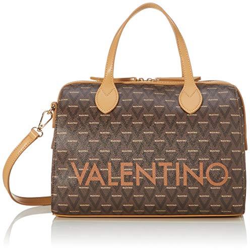 Mario Valentino Valentino by Damen Liuto Bowling Tasche, Braun (Cuoio Multicolor), 17x22x30.5 cm
