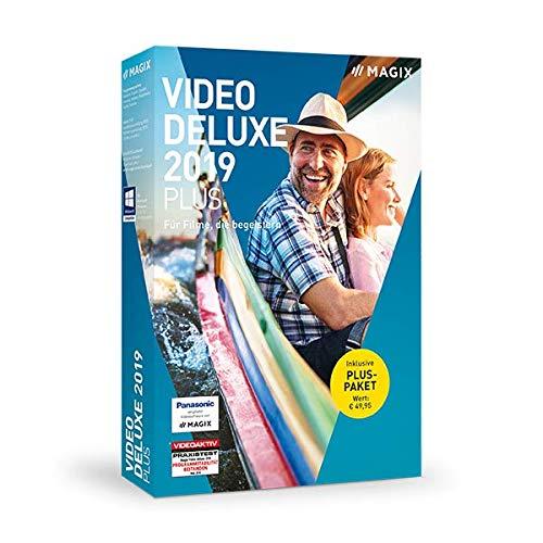 MAGIX Video deluxe 2019 Plus – Das perfekte Videostudio. Standard 1 Device 1 Year PC Disc Disc