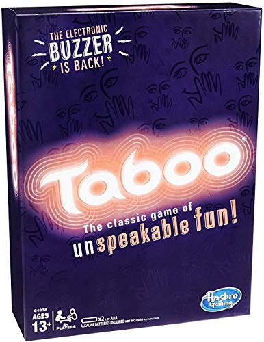 Hasbro Taboo Game