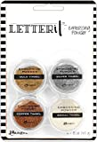 Ranger Set Letter It Polvos Embossing Tinsels