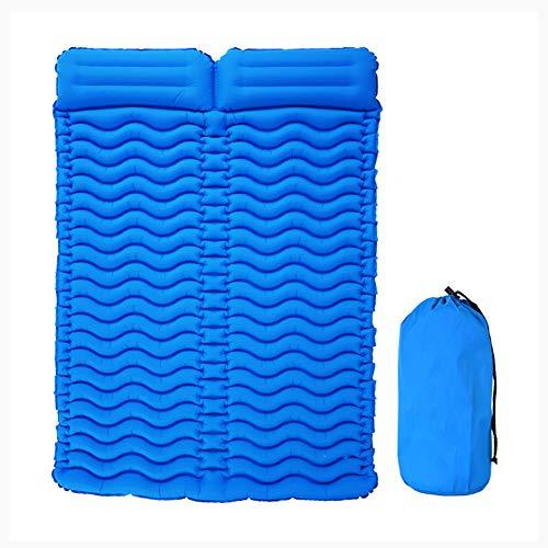 Z_L Air Bed Air Bed Opblaasbaar Dubbel slaapkussen 2 personen draagbaar matras ultralicht opblaasbare camping mat voor outdoor camping met kussen