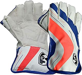SG RSD Xtreme Wicket Keeping Gloves | Made from The Finest Genuine Leather and has All-Leather Palm, Cuffs and Back