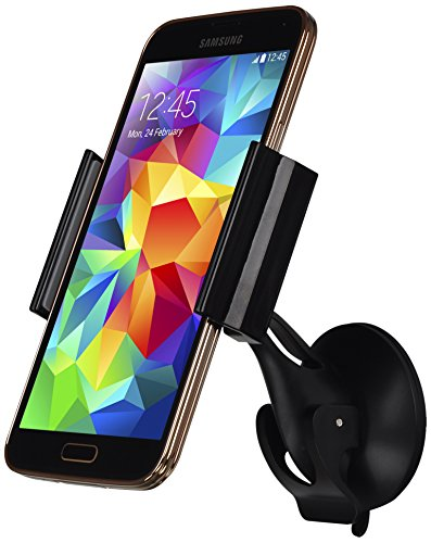 Great Deal! LUXA2 Smart Clip Universal Car Mount Holder for iPhone 6 (4.7)/ 5s/ 5c/4s, Galaxy S4/S3/...