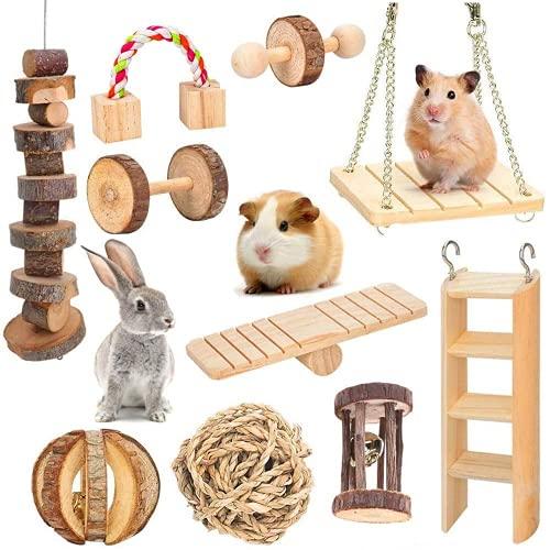 Nynelly Jouets à Mâcher pour Hamster Lot de 10...