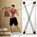 All In One Ultimate Home Workout Weider X-Factor Door Home Gym Dutrix Over The Door Home Exercise Equipment Resistance Bands UK Based