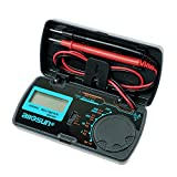 allsun Manual Range Digital Multimeter Mini 6 Functions Handheld Folding Digital Multimeter 3-1 2 Digit Pocket DMM DC/AC Voltmeter DC Ammeter Ohm Continuity Diode Testing Tone Tester EM3081