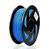 S SIENOC 1 paquete de filamento impresora 3D HIPS 1.75mm Impresora - Con 1 kg de carrete (HIPS Azul)