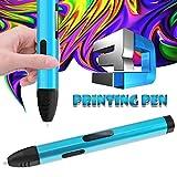 WHCCL Pluma de impresión 3D,Lápiz Inteligente 3D con PLA y ABS,Pantalla LCD Arts Crafts Gift para niños y Adultos