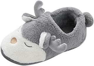 Lanhui Snow Cartoon Animal Floor Shoes Prewalker Warm Shoes Baby Girl Soft Booties